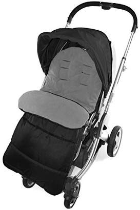 Koochi Footmuff/Cosy Toes Compatible with Litestar Travel Pushchair Dolphin Grey