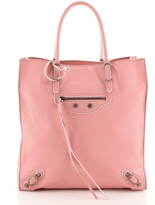 Balenciaga Papier A5 Classic Studs Bag Leather Medium