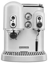KitchenAid Espresso Machine Frosted Pearl