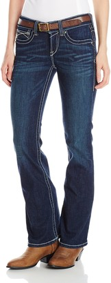 Ariat Women's R.E.A.L. Riding Mid Rise Boot Cut Jean