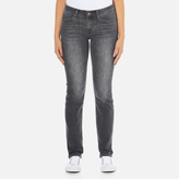 Levi's Women's 712 Slim Straight Fit Jeans Burnt Ash