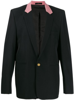 Paul Smith Contrast Collar Blazer