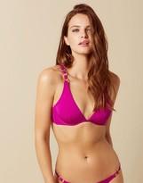 Agent Provocateur Kayla Bikini Top Pink