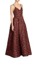 Alice + Olivia Marilla Floral Gown