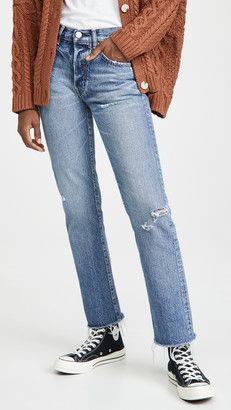 Moussy Franconia Straight Jeans