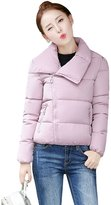 YMING Womens Thickened Student Outwear Winter Warm Jacket S