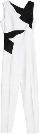 Antonio Berardi Perforated Crepe Jumpsuit