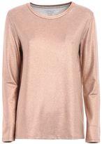 Majestic Soft Glitter Jersey T-shirt
