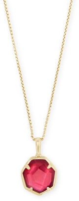 Kendra Scott Cynthia Gold Pendant Necklace