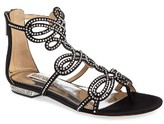 Badgley Mischka Women's Tempe Embellished Sandal