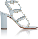 Valentino Women's Rockstud Triple-Strap Sandals-BLUE
