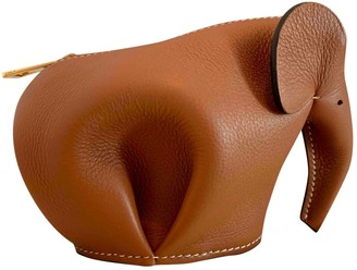 Loewe Animals Brown Leather Purses, wallets & cases