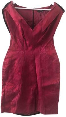 Alessandro Dell'Acqua Red Cotton - elasthane Dress for Women