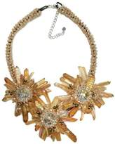 Ananda Beige Flower Necklace