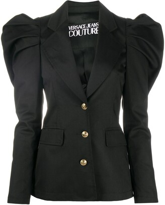 Versace Jeans Couture Tapered Sleeve Blazer