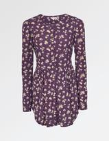 Fat Face Evie Teatime Floral Longline Shirt