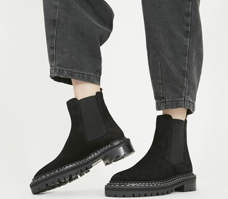 Office Altruistic Chelsea Boots Black Suede
