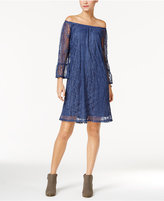 Style&Co. Style & Co. Off-The-Shoulder Lace Dress, Only at Macy's