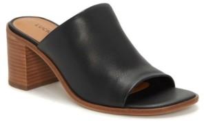 Lucky Brand Women's Sayvan Open Toe Mules Women's Shoes