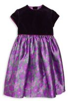 Oscar de la Renta Toddler's, Little Girl's & Girl's Floral A-Line Dress