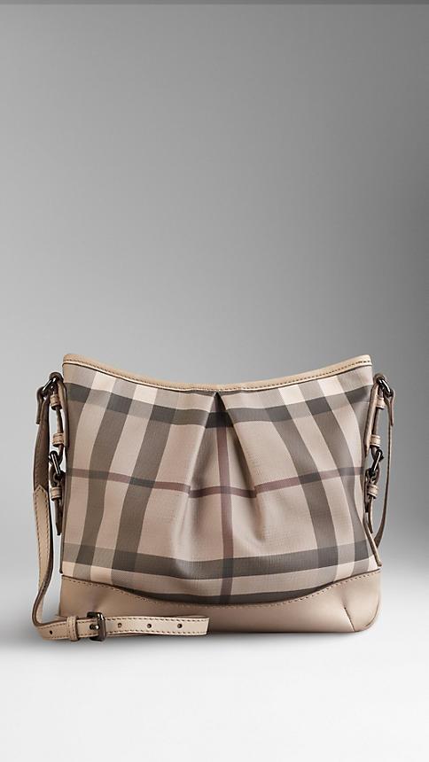 Burberry Medium Smoked Check Crossbody Bag