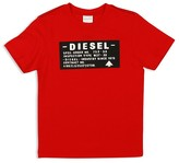 Diesel Boys' Slim Fit Logo Tee - Sizes 4-16