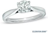 Zales Celebration Grand® 3/4 CT. Diamond Solitaire Engagement Ring in 14K White Gold (I-J/I1)