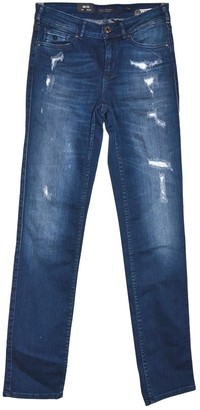 Scotch & Soda Blue Cotton - elasthane Jeans for Women