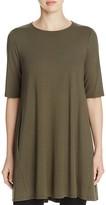 Eileen Fisher Round Neck Tunic Dress