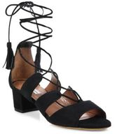 Tabitha Simmons Isadora Suede Lace-Up Sandals