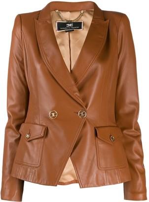 Elisabetta Franchi Textured Blazer Jacket