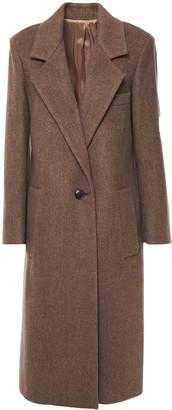 Joseph Herringbone Wool-blend Coat