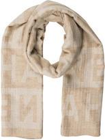 Chanel Logo Cashmere Silk Scarf