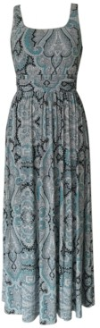 INC International Concepts Inc Banded Maxi Dress, Created for Macy's