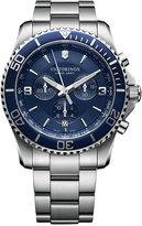 Victorinox Men's Chronograph Maverick Stainless Steel Bracelet Watch 43mm 241689