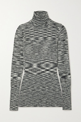 Joseph Space-dyed Wool Turtleneck Sweater - Black