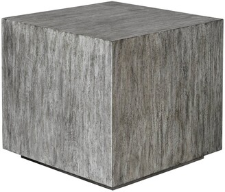 Uttermost Kareem Modern Grey Side Table