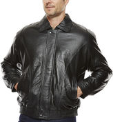 Asstd National Brand Pig Leather Bomber Jacket
