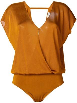 Forte Forte Wrap Front Bodysuit