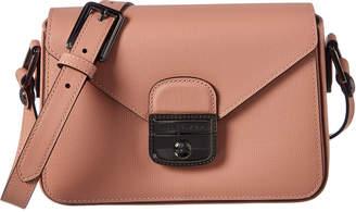 Longchamp Le Pliage Heritage Small Leather Shoulder Bag