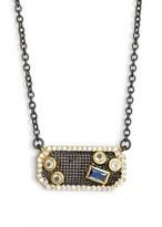 Freida Rothman Modern Mosaic Pendant Necklace