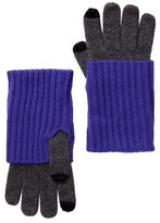 Amicale Cashmere Knit Smartphone Touchscreen Gloves