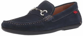 Marc Joseph New York Mens Genuine Leather Made in Brazil Wall Street Driver Loafer