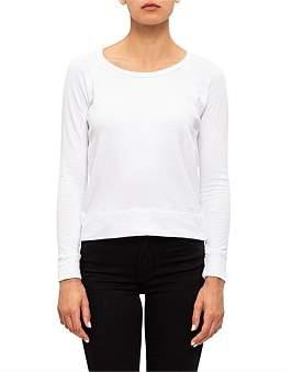 James Perse Classic L/S Raglan Sweatshirt