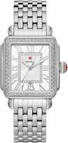 Michele Deco Madison Mid Diamond Watch Head & Bracelet, 33mm