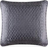 "J Queen New York Bohemia Graphite 20"" Square Decorative Pillow"
