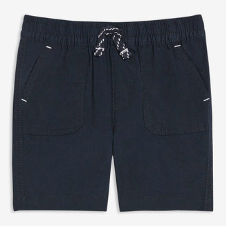 Joe Fresh Baby Boys' Cotton Shorts, JF Midnight Blue (Size 18-24)
