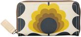 Orla Kiely Summer Flower Stem Big Zip Wallet - Sunshine