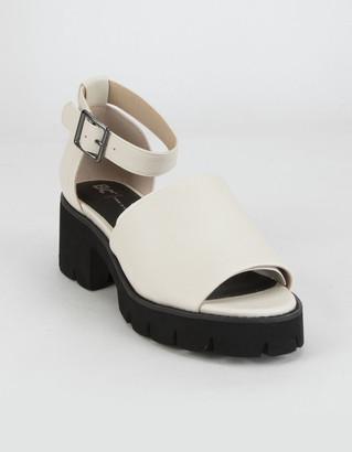 BC Footwear United Womens Black Sandals