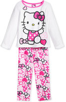 Hello Kitty 2-Pc. Never Too Many Bows Pajama Set, Toddler Girls (2T-4T)
